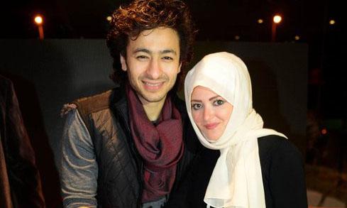 صور حمادة هلال وزوجته الفلسطينية اسماء سميح