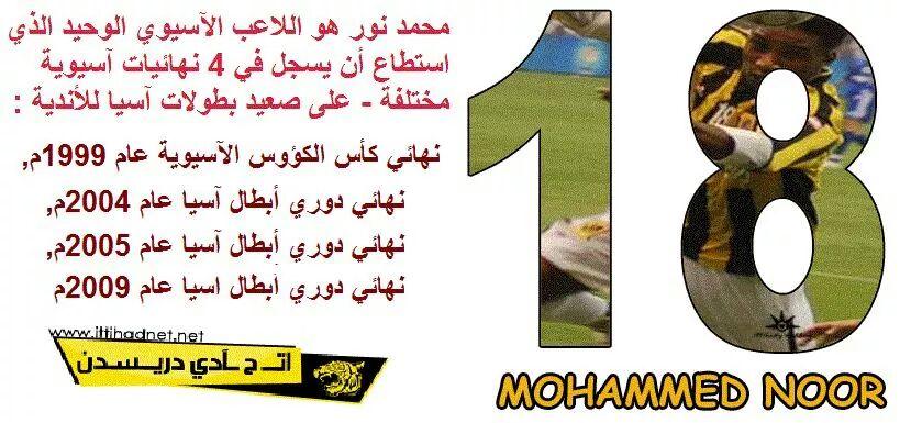 محمد نور = اللاعب الوحيد الذي سجل في 4 نهائيات آسيوية مختلفة / فيديو للأهداف