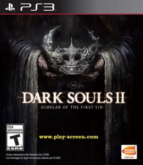 Dark Souls II Scholar of the First Sin - PS3