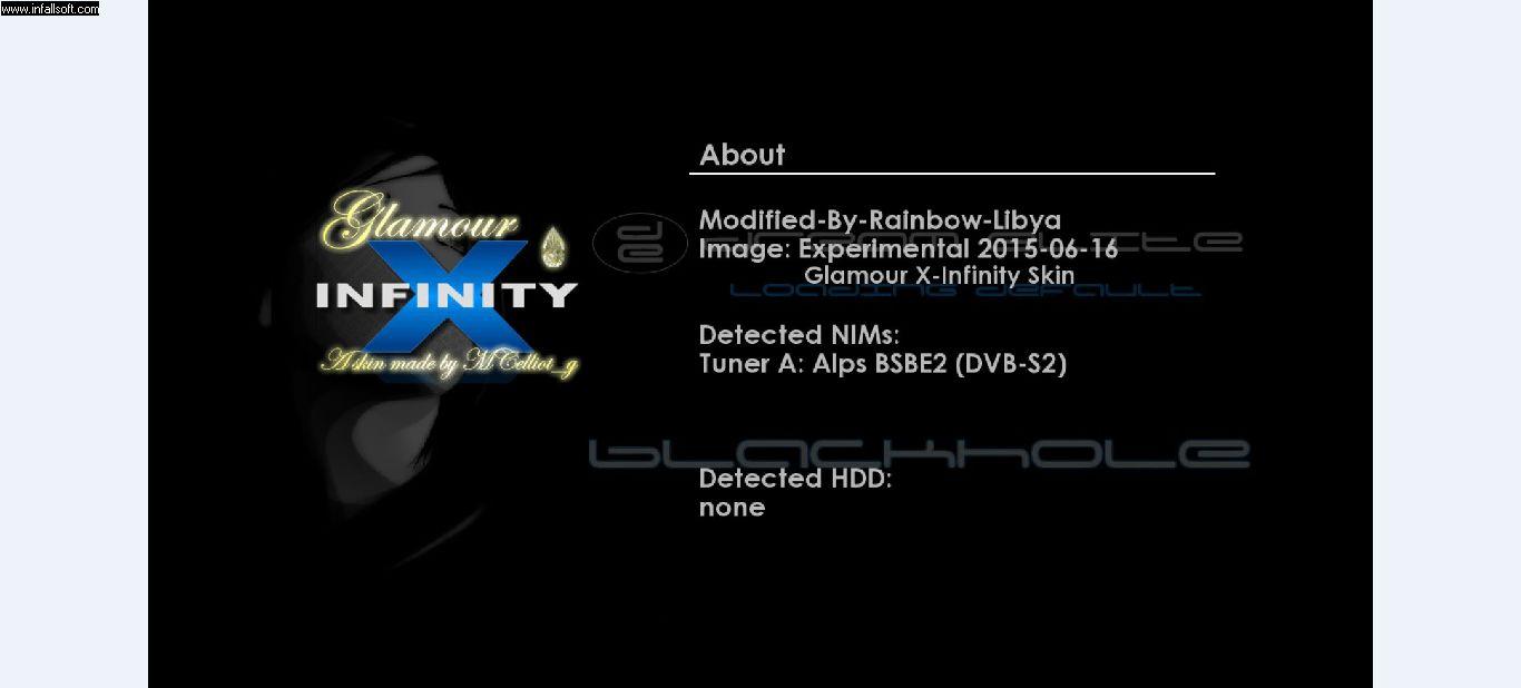 BlackHole-RainbowLibya Edition-SSL70-dm800 sim1 in DM 800HD