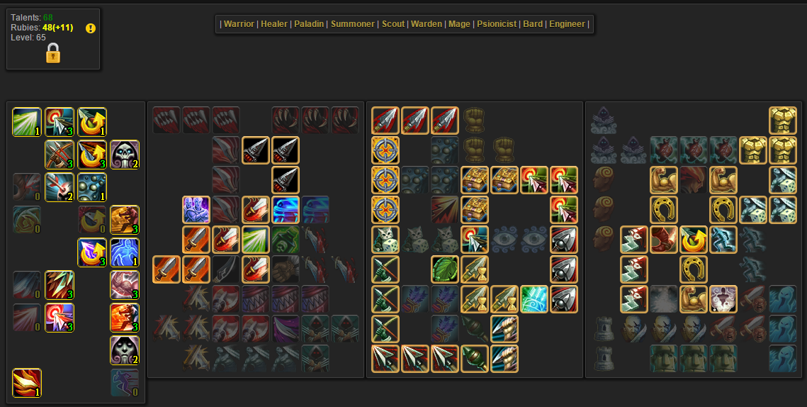 Warden Build Allods Online