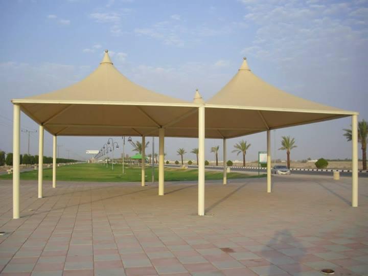 مظلات مواقف باسعار مخفضه من شركة المهيدب 0555844180