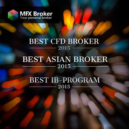 فازت MFX Broker بثلاثة جوائز