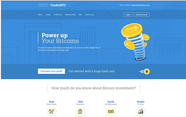 شرح شامل لموقع Tinder BTC الجديد و الرائع + اثبات الدفع صادق 100% coobra.net