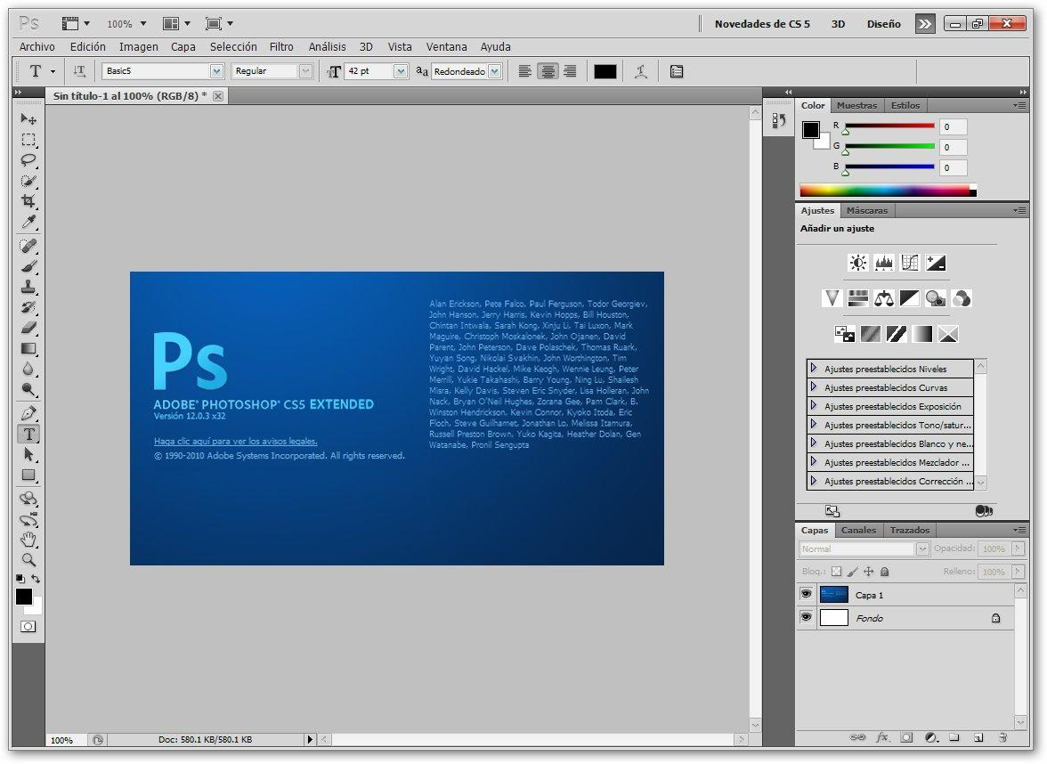download adobe photoshop cs5 extended