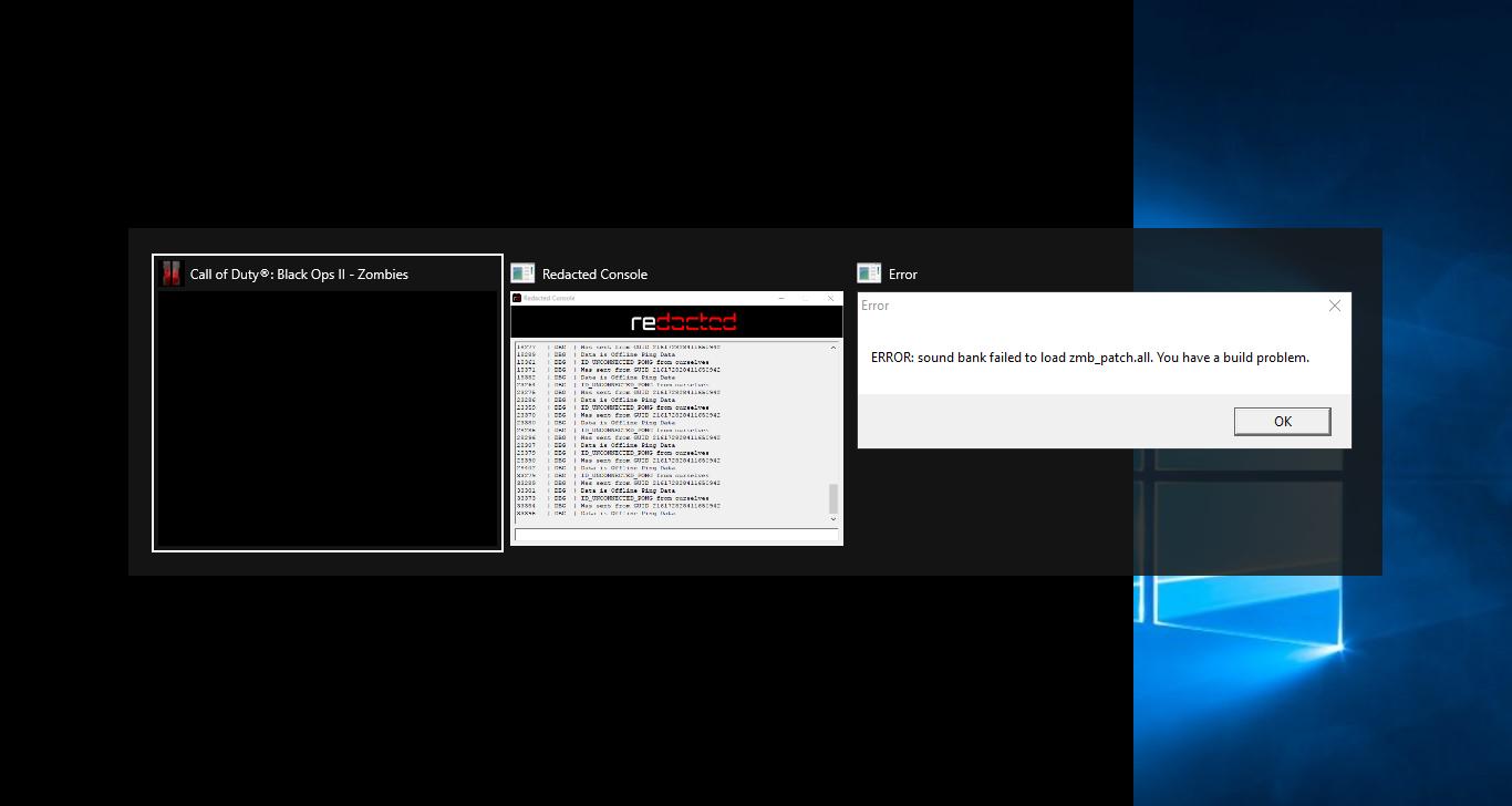 مشكلة ] - تشغيل لعبه Call of duty Black Ops 2 Zombie offline | نقطة