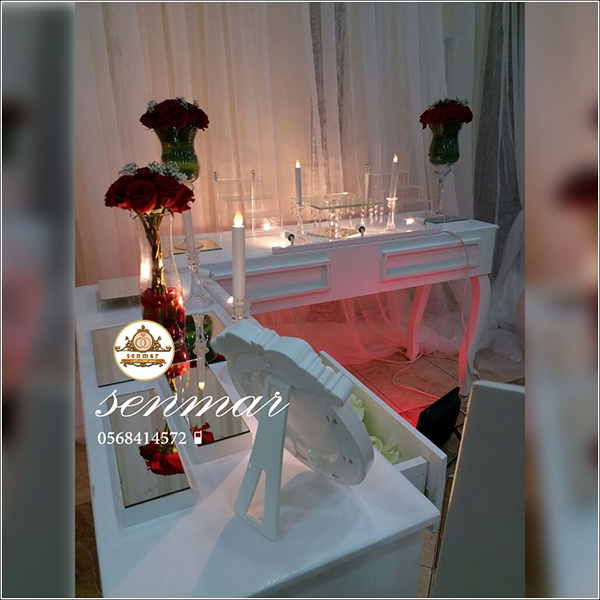 تنسيق طاولات مداخل استقبال سنمار تنسيق حفلات مواليد بالونات