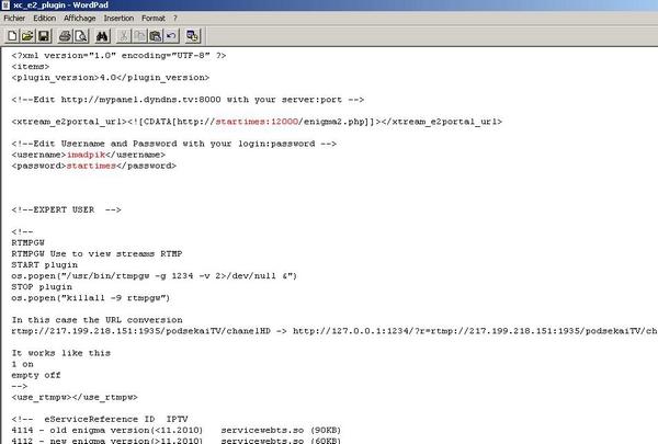 بالصور شرح أفضل بلوغين xc plugin لتشغيل إشتراك iptv خاص ب enigma2
