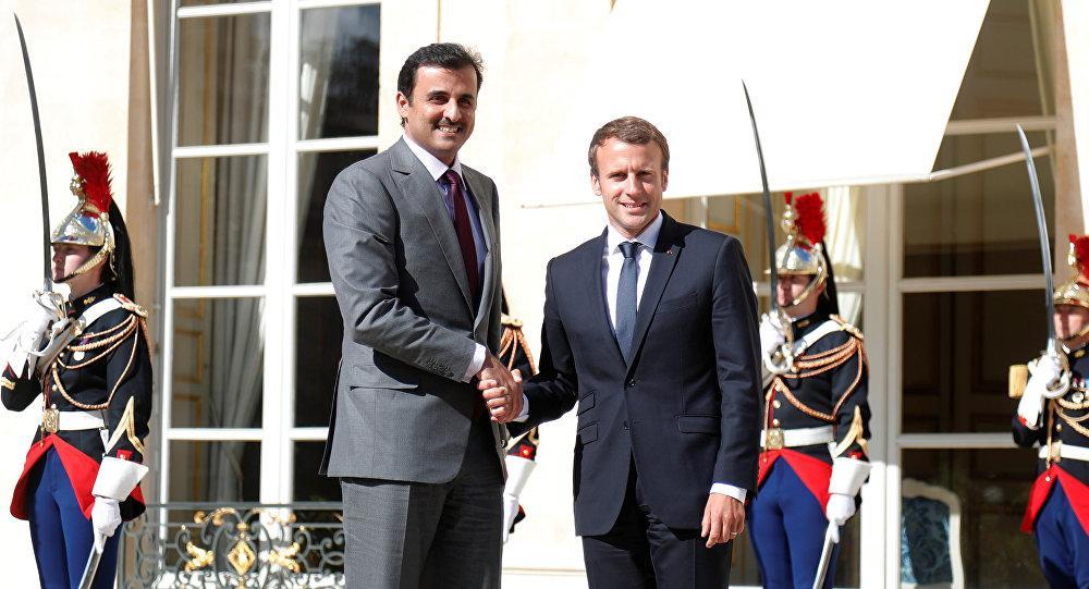 مفاجأة...فرنسا تحسم موقفها من الحرب بين قطر ودول المقاطعة