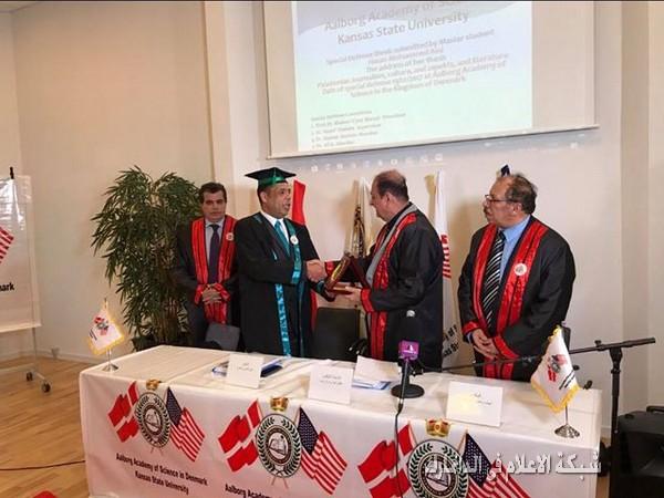أكاديمية البورك للعلوم في الدنمارك تمنح شهادة ماجستير عن الأدب الفلسطيني في الصحافة الفلسطينية