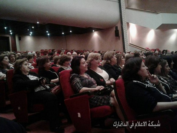 جمعية التواصل والحوار الإنساني تكرم رائدة الثقافة في لبنان السيدة مي وهاب بو حمدان