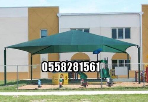 تصميمات مظلات وبيوت بالرياض 0558281561