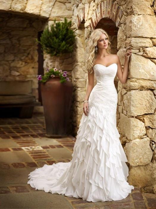 فساتين زفاف ناعمة بتصميم تركي