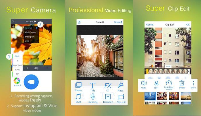 التطبيق الاقوى VivaVideo Pro: Video Editor لدمج وتحرير الصور والفيديو