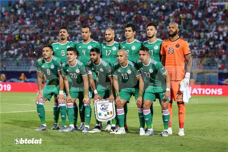 هدف فوز الجزائر علي بتسوانا 1 0 تصفيات امم افريقيا كورة